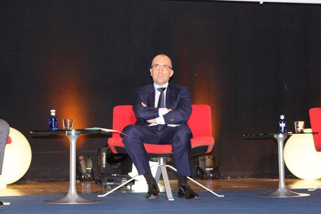 Javier Gómez, director General de LaLiga en el WFS