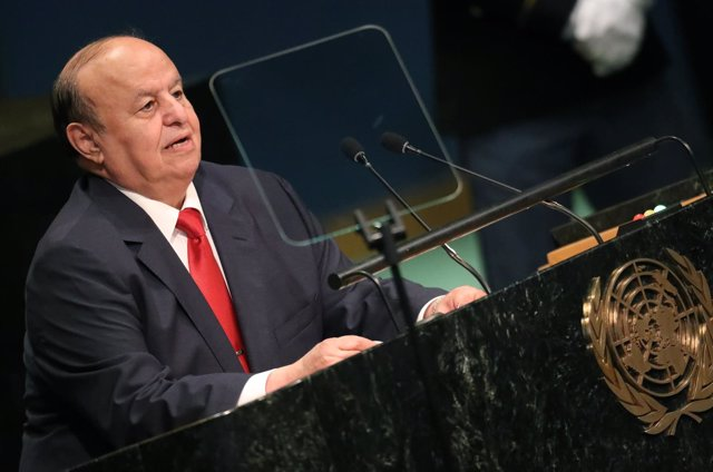 El presidente de Yemen, Abdo Rabbu Mansur Hadi