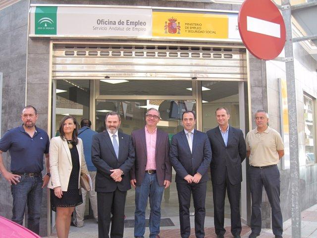 La junta invierte m s de euros en la nueva sede for Oficinas sae sevilla
