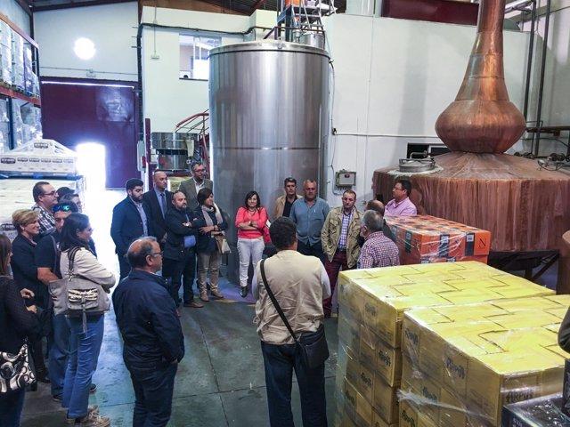 Los empresarios almerienses han visitado tres empresas de Granada.