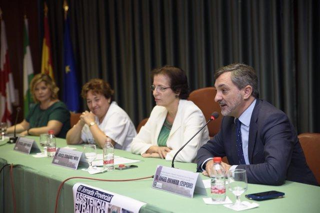 El diputado Ángel Escobar ha participado en las Jornadas de Asistencia.