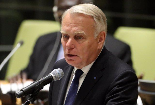 El ministro de Exteriores francés, Jean-Marc Ayrault