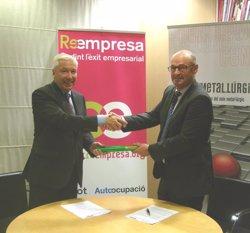 Cecot i el Centre Metal·lúrgic de Sabadell signen un acord per difondre la iniciativa Reempresa (CECOT)