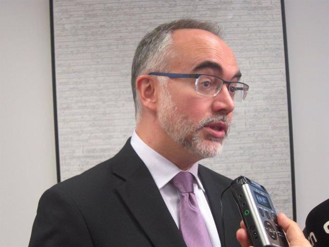 El secretario de Universidades Arcadi Navarro