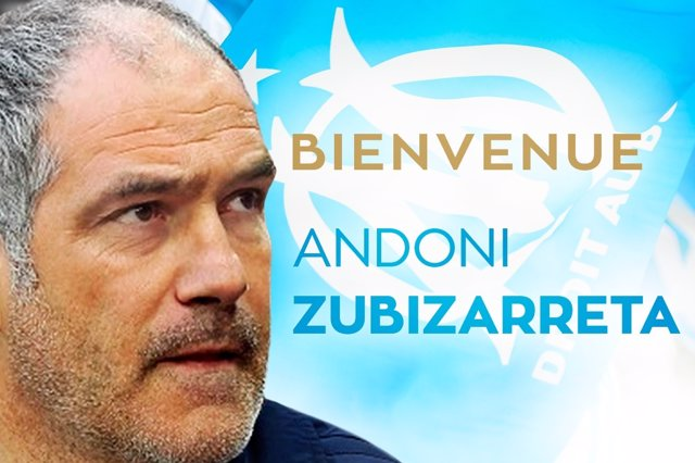 Zubizarreta, nuevo director deportivo del Marsella
