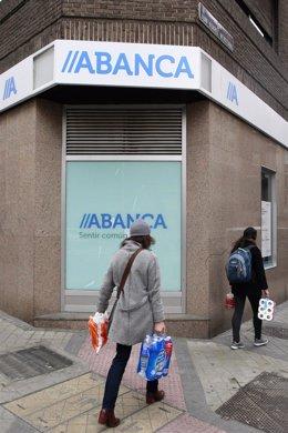 Sucursal del banco Abanca