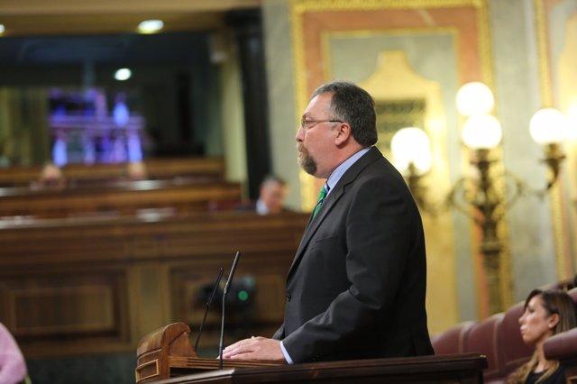 Isidro Martínez Oblanca en el debate de investidura