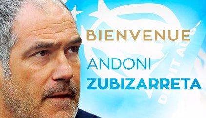 Andoni Zubizarreta, nou director esportiu de l'Olympique de Marsella