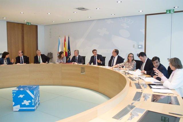 Rueda de prensa del Consello de la Xunta del 27 de octubre
