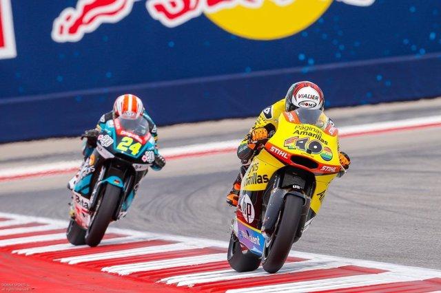 El piloto español de Moto2 Àlex Rins