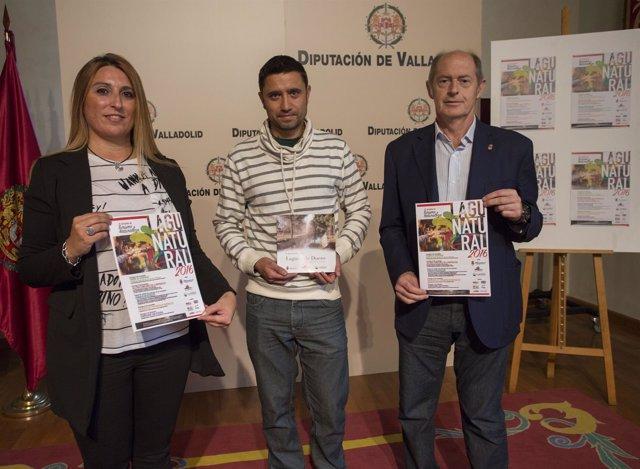 Presentación de Lagunatural en la Diputación de Valladolid