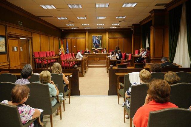 El Palacio Provincial, sede del Consejo Provincial de Mujeres.