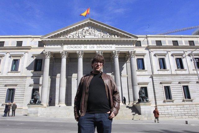 Miguel Urban, cofundador de Podemos