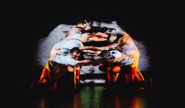 Momento del espectáculo de danza 'Nagare'