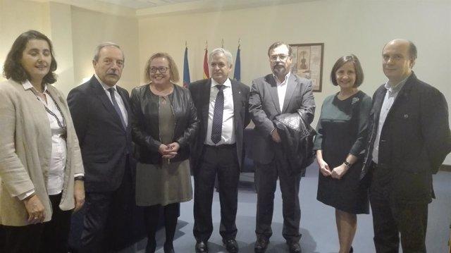Firma de  convenio entre Ayuntamiento de Oviedo y CSIC