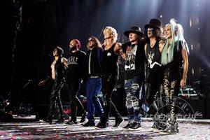 Guns N'Roses inicia en Lima su gira por Latinoamérica
