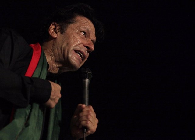 Imran Jan, líder del PTI