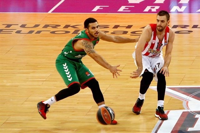 Baskonia pierde contra el Olympiacos en Euroliga