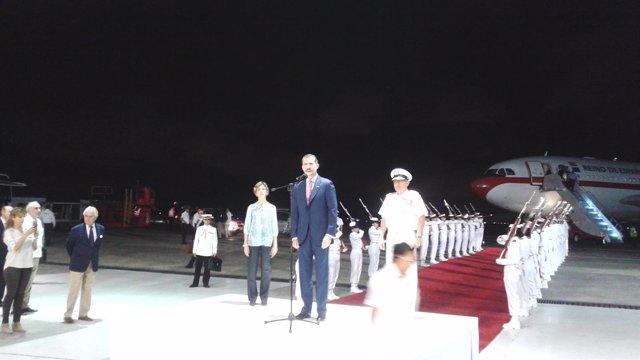 El rey Felipe llega a Colombia para participar en la XXVV Cumbre Iberoamericana
