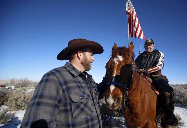 Ammon Bundy en Malheur, Oregón