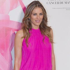 Elizabeth Hurley también apoya la lucha contra el cáncer de mama en España