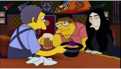 Los Simpson: La disparatada broma sobre Yoko Ono que se ha hecho real