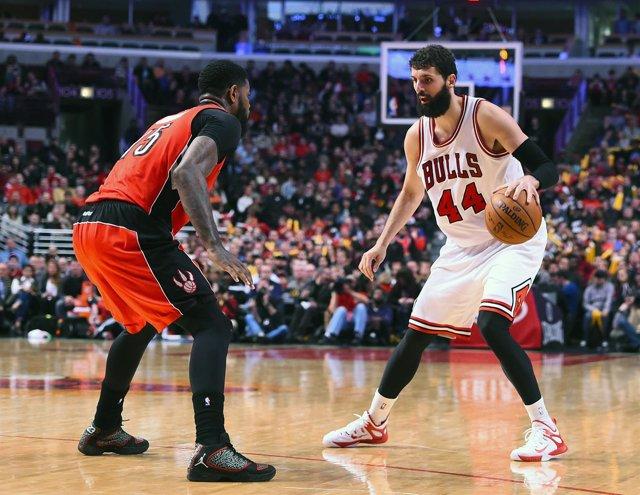 Nikola Mirotic NBA Toronto Raptors Chicago Bulls
