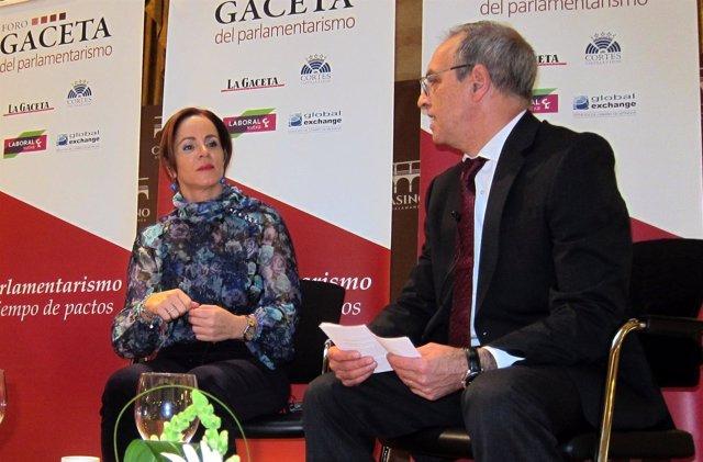 Clemente, en el Foro de la Gaceta de Salamanca.