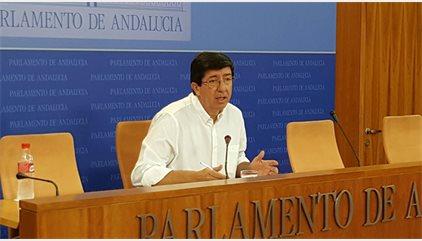 Marín (C's): Si el PP-A ganara las elecciones hablaríamos antes con ellos que con el PSOE-A