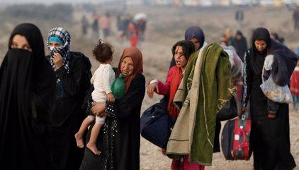 Estado Islámico secuestra a 8.000 familias para usarlas de escudos humanos en Mosul