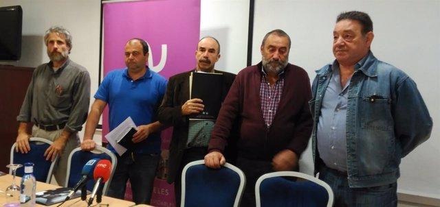 Representantes de Asturias Ganadera-Usaga.