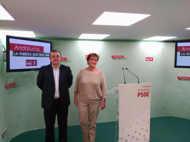 Francisco Vargas Marisa Bustinduy sobre salud en la Junta de Andalucía