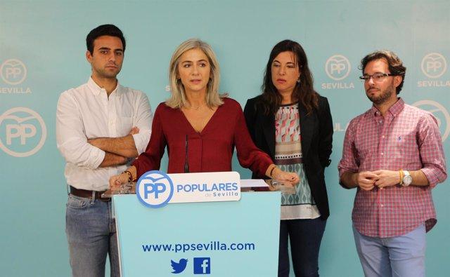 Los populares analizan las políticas de juventud.