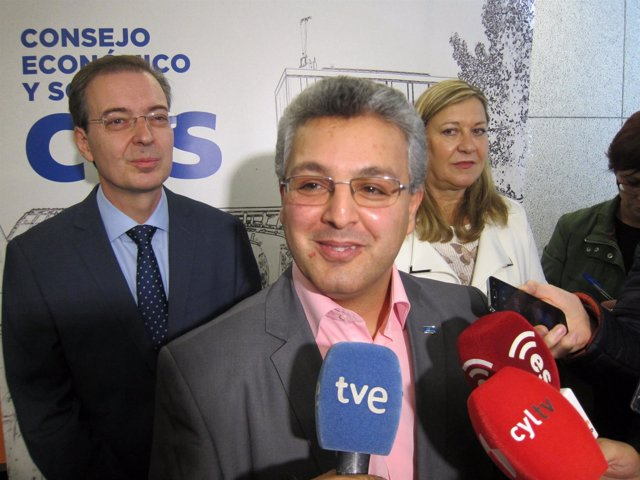 Dimitru Fornea, presidente del CES europeo.