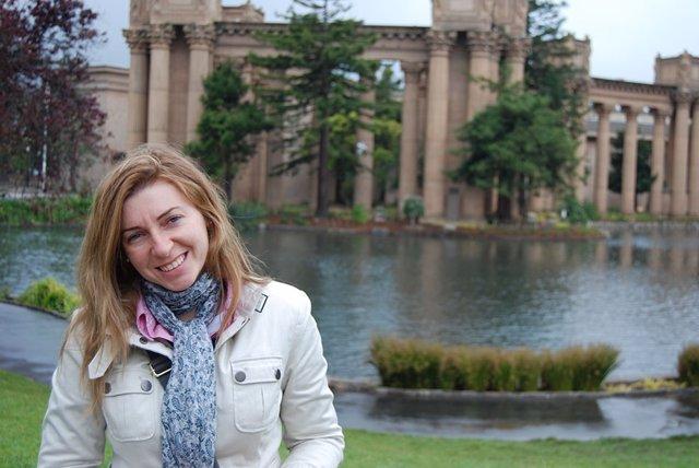 Una de las profesores de UNIR premiadas Aurora Martínez
