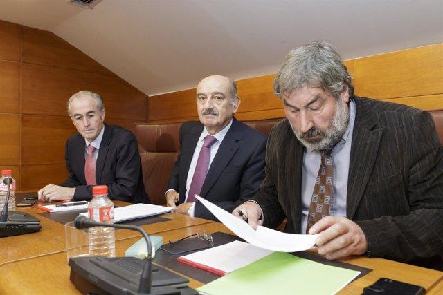 Mazón comparece en comisión en el Parlamento para hablar del Puerto de Laredo