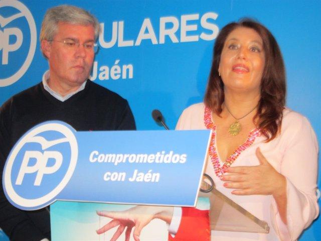 Carmen Crespo y José Enrique Ferández de Moya