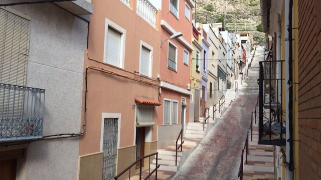 Una calle del centro de Valencia
