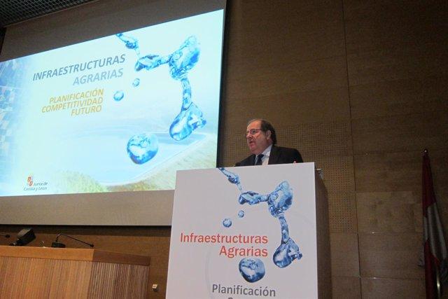 Herrera presenta el nuevo mapa de infraestructuras agrarias