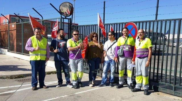 Los paros de los trabajadores de Servicios Logísticos de Combustible
