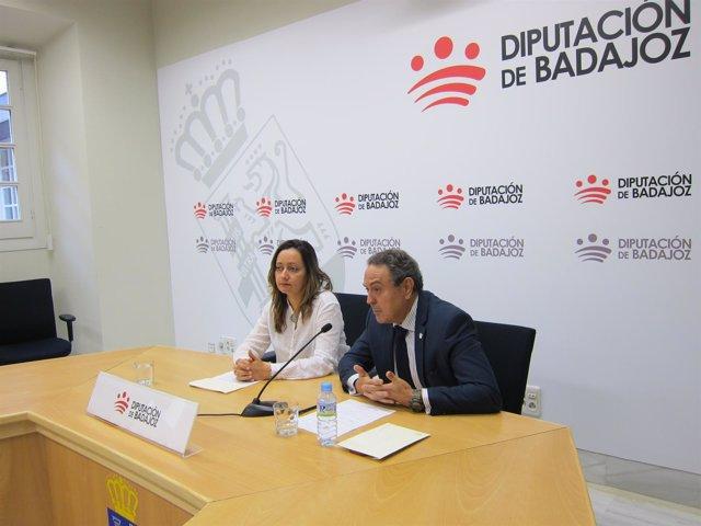Virginia Borrallo y José Luis de Pedro