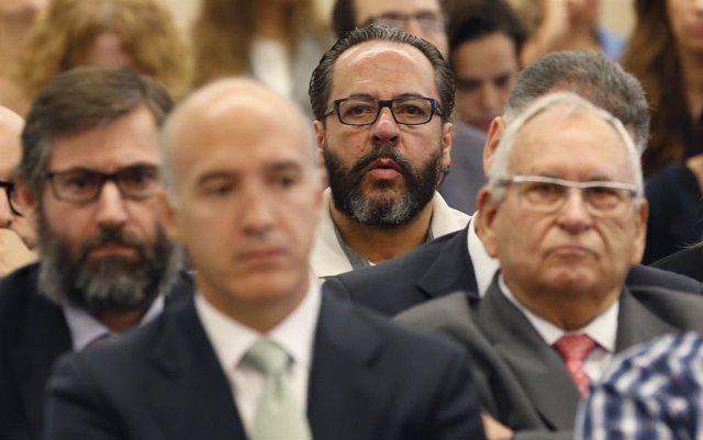 Álvaro Pérez, el Bigotes en el juicio por Gürtel