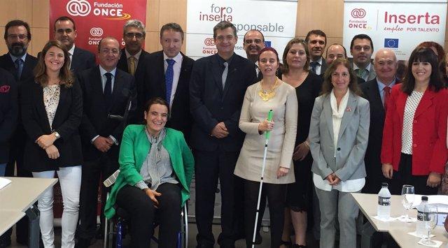 Abades, miembro en el Consejor Asesor del Foro Inserta Responsable en Andalucía.