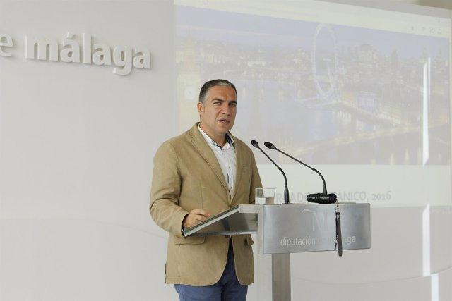 Elías Bendodo presidente de Turismo Costa del Sol Diputación málaga