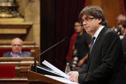 Puigdemont diu que és moment de sobresortir en innovació en salut perquè Catalunya sigui líder (RUBEN MORENO GARCIA)