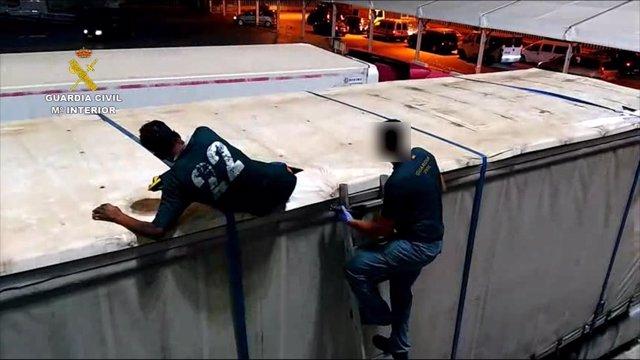 Menor rescatado en la zona portuaria de Melilla
