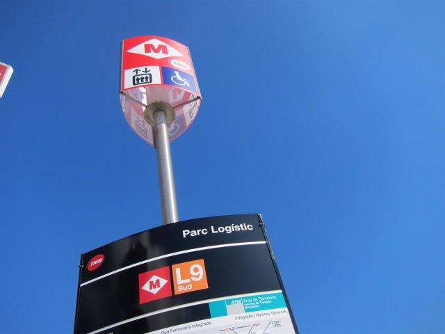 L9 Sud del Metro de Barcelona