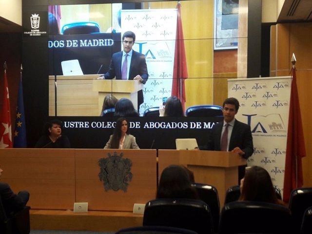 Acto de la Agrupación de Jóvenes Abogados de Madrid