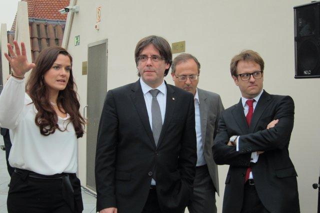 M.Jiménez, C.Puigdemont, E.Tomasa y J.Falguera