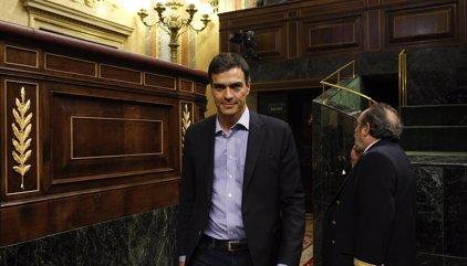 Pedro Sánchez comparece este sábado en el Congreso antes de la votación de investidura